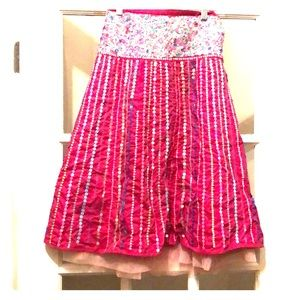 Gorgeous Monsoon sequined skirt